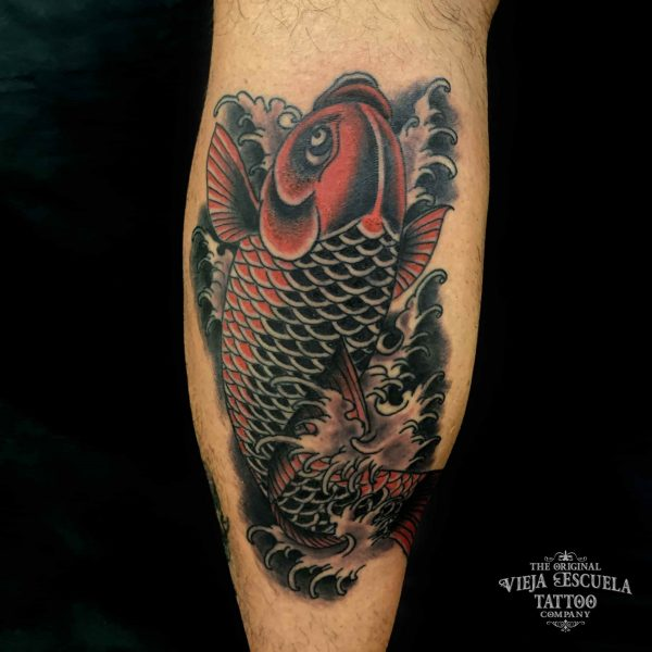 Tatuaje japones en Valencia