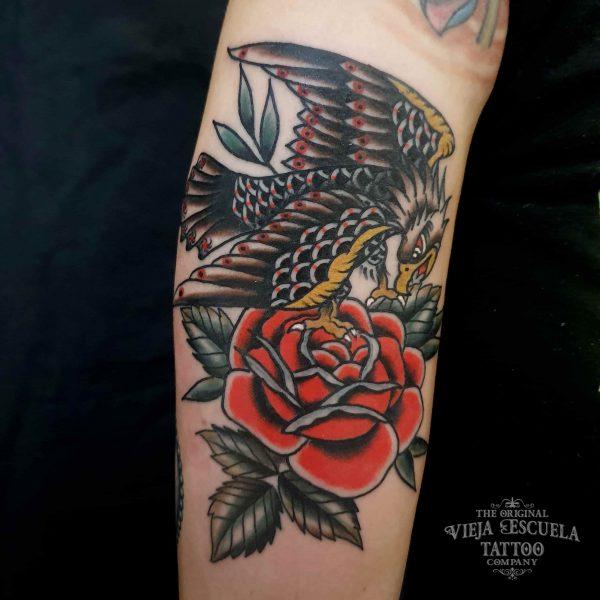 águila tatuaje valencia